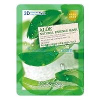 Тканевая маска для лица с экстрактом Алоэ Aloe Natural Essence Mask FoodaHolic