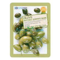 Тканевая маска для лица с экстрактом Оливы Olive Natural Essence Mask FoodaHolic