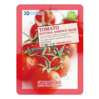 Тканевая маска для лица с экстрактом томатов Tomato Natural Essence Mask FoodaHolic