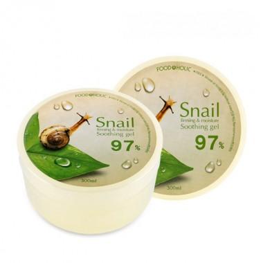 Гель с муцином улитки, 300 мл — Snail Firming and Moisture Soothing Gel