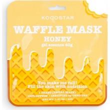 Питательная вафельная маска для лица с экстрактом мёда