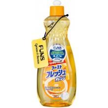 Жидкость для мытья посуды, овощей и фруктов, свежий апельсин, 600 мл