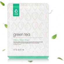 Тканевая маска для жирной и комбинированной кожи с экстрактом зеленого чая