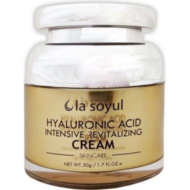 Омолаживающий крем для лица с гиалуроновой кислотой Hyaluronic Acid Intensive Revitalizing Cream