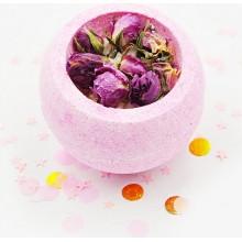 """Бомбочка для ванны """"Розовая чаша"""""""