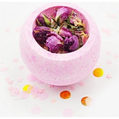 "Бомбочка для ванны ""Розовая чаша"" — Bath bomb ""Pink bowl"""