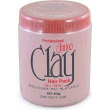 Маска для поврежденных волос с аминокислотами и глиной, 800 гр