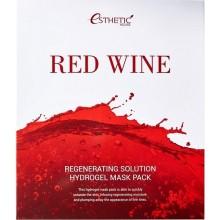 Набор гидрогелевых масок для лица с красным вином 5 шт*28 г