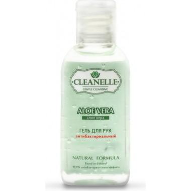 Антибактериальный гель для рук с алоэ и витамином Е, 60 мл — Hand sanitizer gel with Aloe Vera and vitamin E