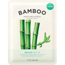 Освежающая тканевая маска для лица с бамбуком