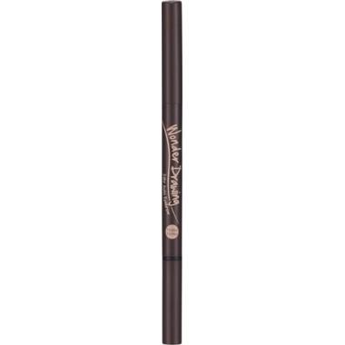 Автоматический карандаш для бровей с щеточкой, тон 02 - темно-коричневый — Wonder Drawing 24hr Auto Eyebrow