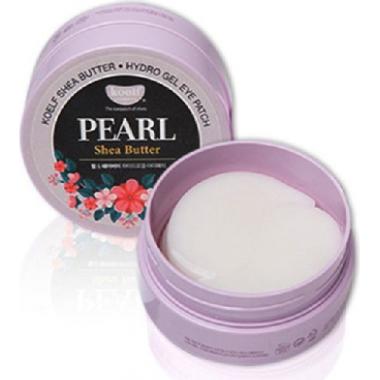 Гидрогелевые патчи для глаз с маслом ши и жемчугом, 60 шт — Pearl Shea Butter Hydro Gel Eye Patch