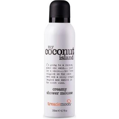 Мусс для душа My Coconut Island Shower Mousse, кокосовый рай