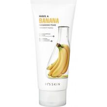 Очищающая питательная пенка для лица с бананом, 150 мл