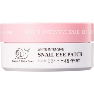 Гидрогелевые патчи с муцином улитки, 60 шт — White Intensive Snail Eye Patch