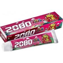 Детская зубная паста с клубничным вкусом, 80 г