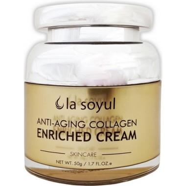 Антивозрастной крем для лица с коллагеном, 50 г — Anti-Aging Collagen Enriched Cream