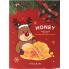 Новогодний набор тканевых масок с мёдом The Fresh Mask Sheet Honey 5EA (GLOBAL NEW YEAR)