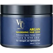Маска для волос с аргановым маслом питательная