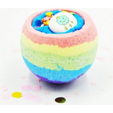 """Бомбочка для ванны """"Радужная"""" — Bath bomb """"Rainbow"""""""