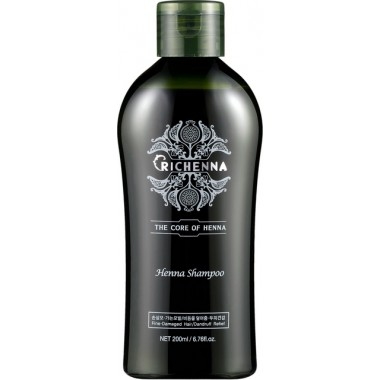 Восстанавливающий шампунь для волос с хной, 200 мл — Henna Clinic Shampoo