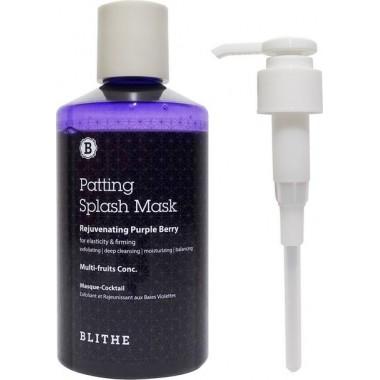Антивозрастная сплэш-маска, 300 мл — Patting Splash Mask Rejuvenating Purple Berry