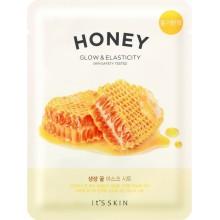 Питательная тканевая маска для лица с медом
