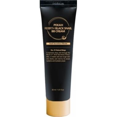ББ-крем с муцином чёрной улитки, тон 21, 30 мл — Rebirth Black Snail BB Cream