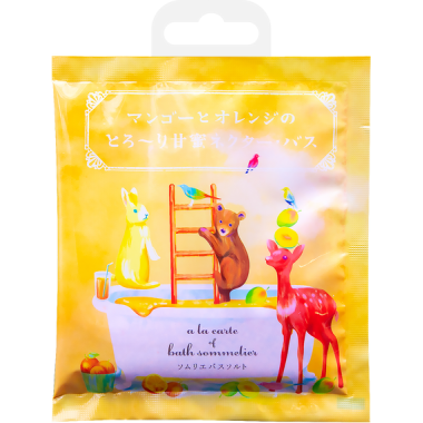 Расслабляющая соль для ванн с экстрактом манго и апельсином