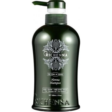Восстанавливающий шампунь для волос с хной, 500 мл — Henna Clinic Shampoo