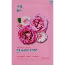 Тканевая маска увлажняющая  с экстрактом дамасской розы