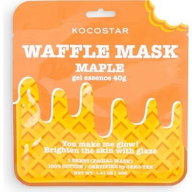 Омолаживающая вафельная маска с экстрактом кленового сиропа