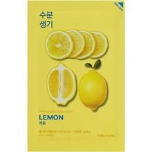 Тканевая маска тонизирующая  с экстрактом лимона