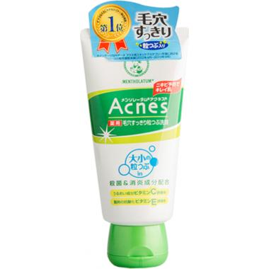 Очищающий крем-скраб для лица против акне — Acnes Scrub in Face Wash