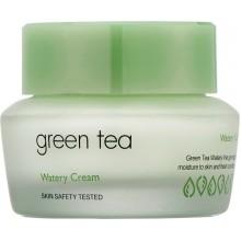 Крем для жирной и комбинированной кожи с зеленым чаем, 50 мл
