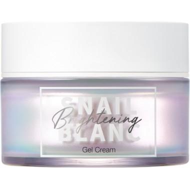 Гель-крем для лица с муцином улитки для сияния кожи, 50 мл — Snail Blanc Brightening Gel