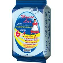 Антибактериальные влажные салфетки 6 в 1 для уборки в доме