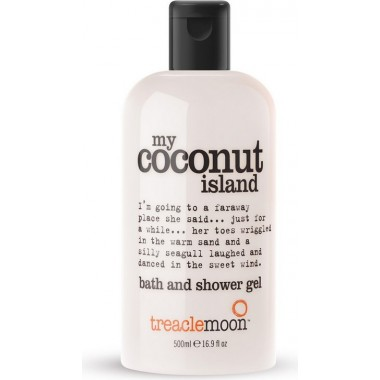Гель для душа Кокосовый рай, 500 мл — My Coconut Island Bath & Shower Gel