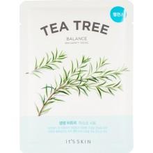 Противовоспалительная тканевая маска с чайным деревом