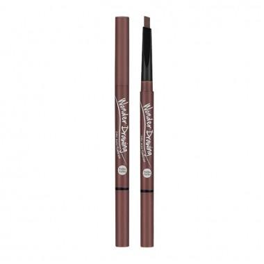 Автоматический карандаш для бровей с щеточкой, красно-коричневый — Wonder Drawing 24hr Auto Eyebrow