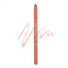 Тонкий карандаш-подводка, оттенок 09 - розовый