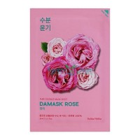 Тканевая маска увлажняющая дамасская роза Pure Essence Mask Sheet Damask Rose Holika Holika