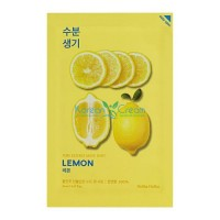 Тканевая маска тонизирующая лимон Pure Essence Mask Sheet Lemon Holika Holika