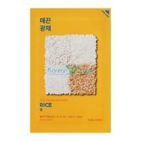 Тканевая маска против пигментации рис Pure Essence Mask Sheet Rice Holika Holika