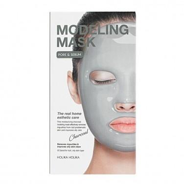 Альгинатная маска для лица с углем, 200 г — Modeling Mask (Charcoal)