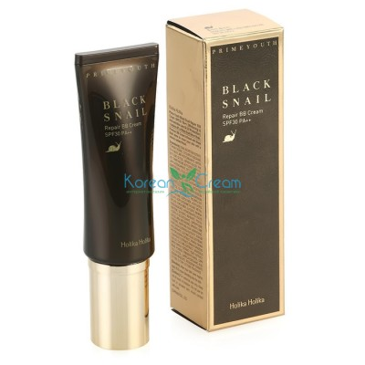 BB крем для зрелой кожи Prime Youth Black Snail Repair BB Cream Holika Holika, 40 мл