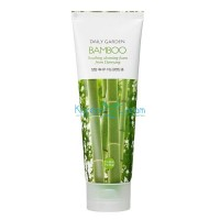 Пенка очищающая бамбук Bamboo Soothing cleansing foam from Damyang Holika Holika, 120 мл