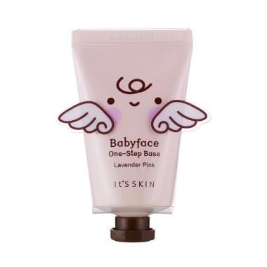 База под макияж, тон 01 - нежно-лиловый, 35 мл — Babyface One-Step Base 01 Lavender Pink