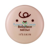 Компактная пудра тон 01 свело-бежевый Babyface Petit Pact 01 Light Beige It's Skin