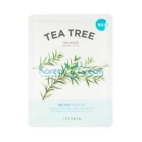 Противовоспалительная тканевая маска с чайным деревом The Fresh Tea Tree Mask Sheet It's Skin